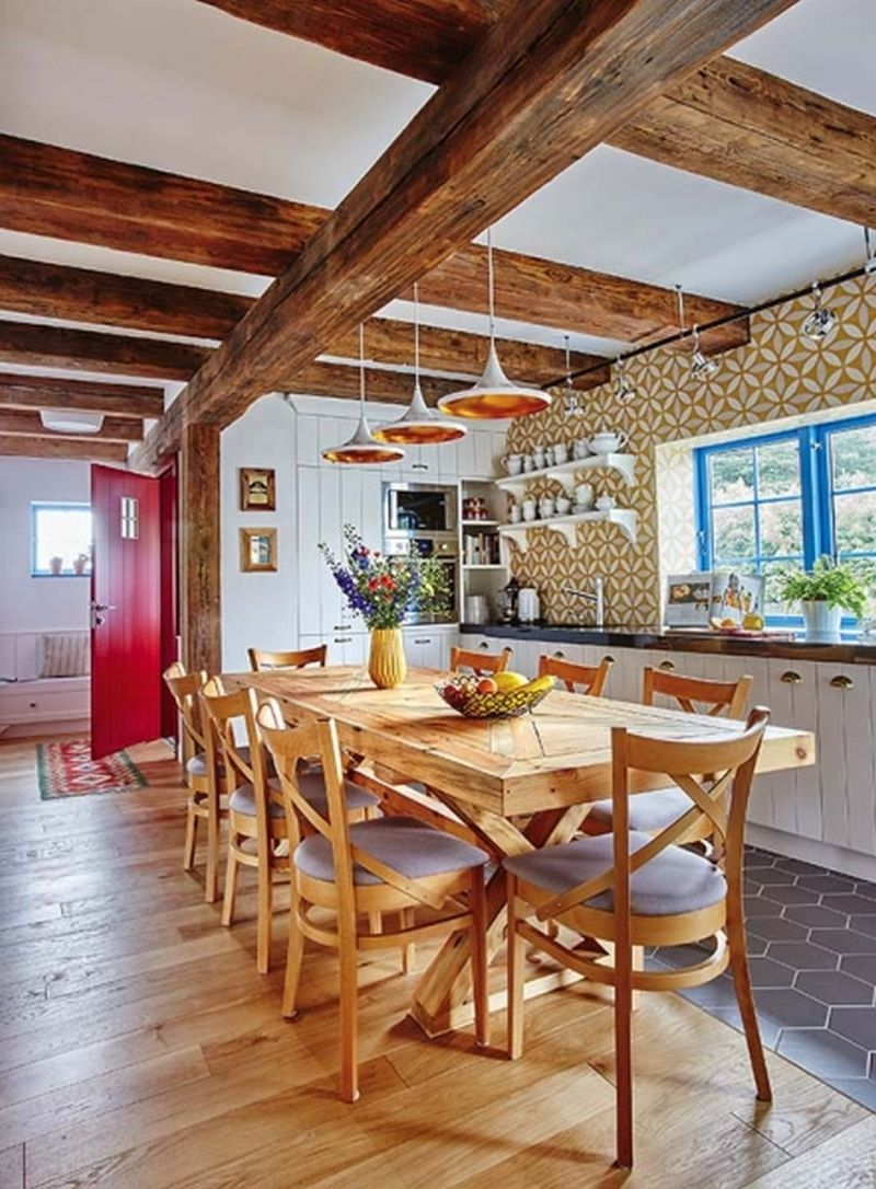 adelaparvu.com despre casa rustica cu stuf si interior actual, Polonia, designer Joanna Kirylowicz, Foto Celestyna Krol (4)