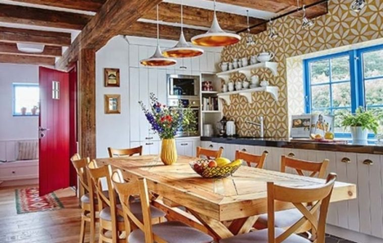 adelaparvu.com despre casa rustica cu stuf si interior actual, Polonia, designer Joanna Kirylowicz, Foto Celestyna Krol (5)