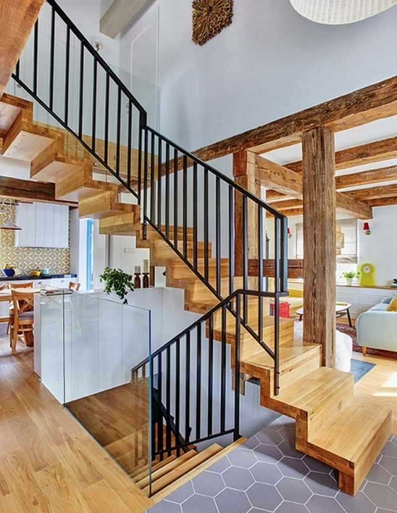 adelaparvu.com despre casa rustica cu stuf si interior actual, Polonia, designer Joanna Kirylowicz, Foto Celestyna Krol (8)