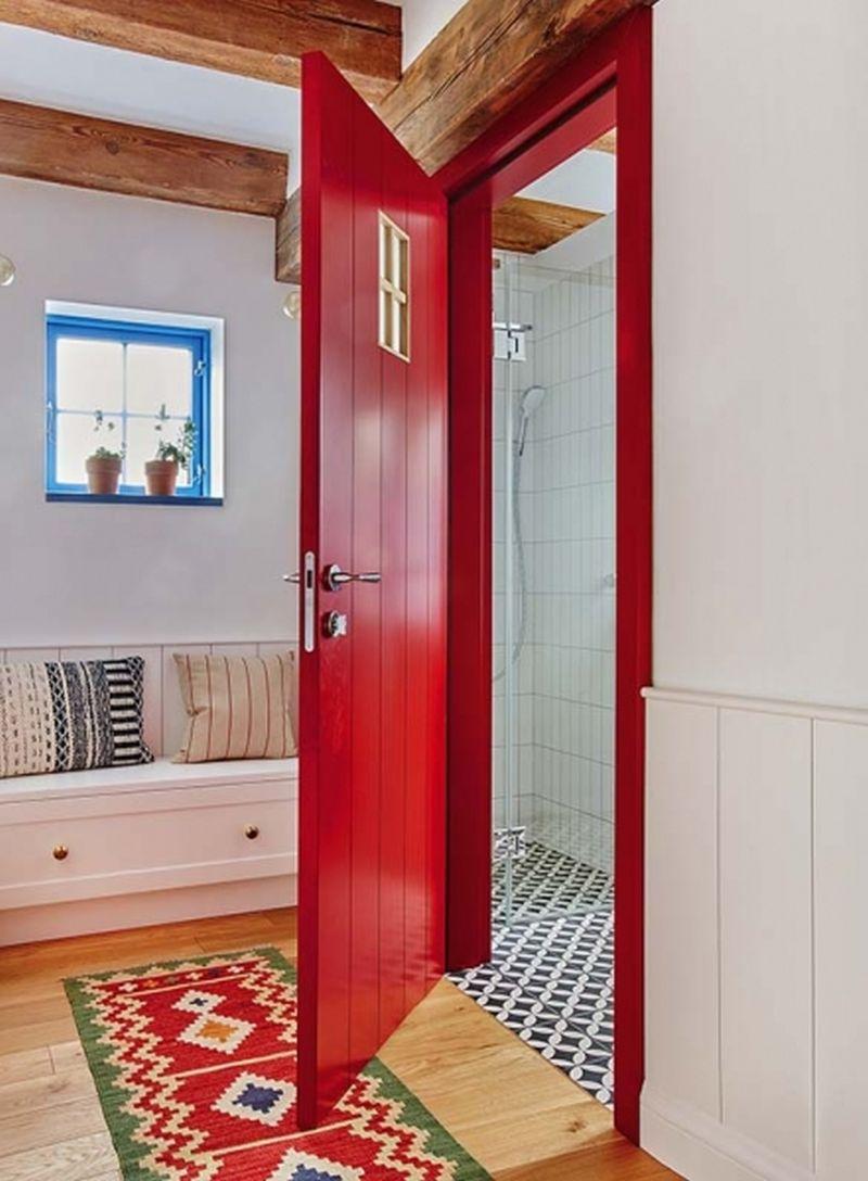 adelaparvu.com despre casa rustica cu stuf si interior actual, Polonia, designer Joanna Kirylowicz, Foto Celestyna Krol (9)