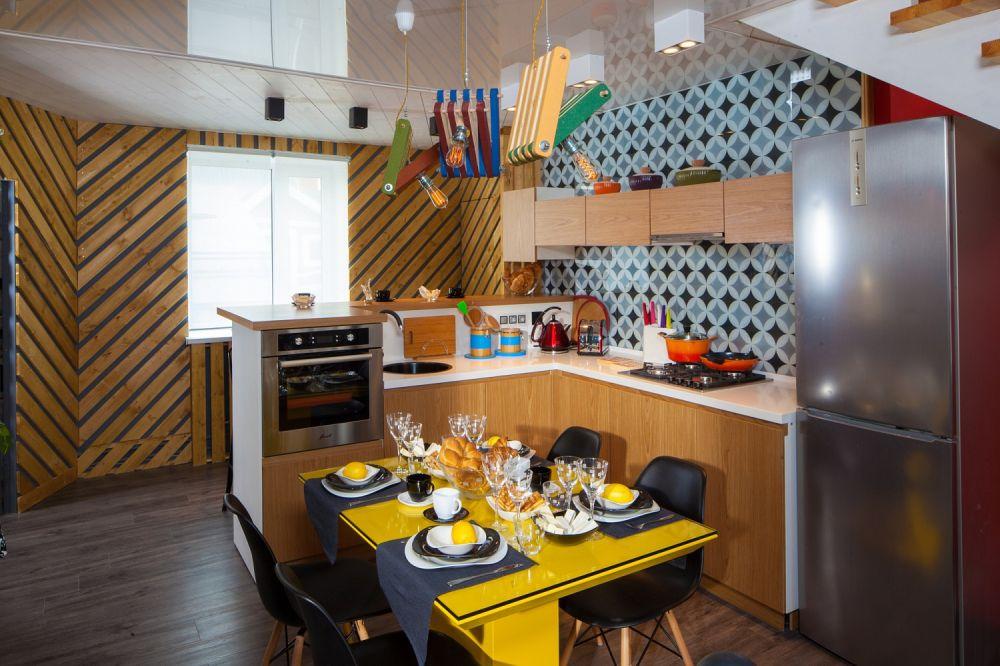 adelaparvu.com despre hol transformat in bucatarie, designer Ekaterina Lebedeva, Foto Vladimir Burcev (15)