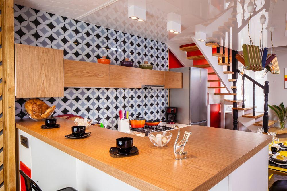 adelaparvu.com despre hol transformat in bucatarie, designer Ekaterina Lebedeva, Foto Vladimir Burcev (20)