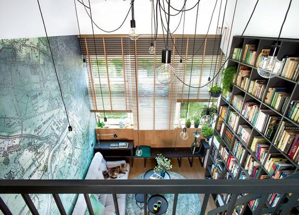 adelaparvu.com despre locuinta 40 mp cu supanta, Loft Lubelska, design Mikolajska Studio, Foto Hanna Dlugosz (6)