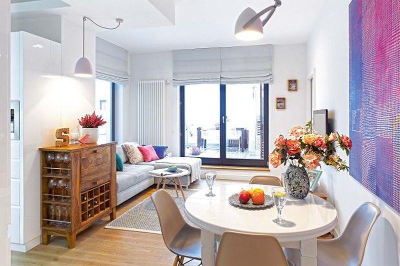 adelaparvu.com despre reamenajare apartament de 57 mp, camera copilului in fosta bucatarie, designer Anna Arcipowska, Foto Michal Mutor (10)