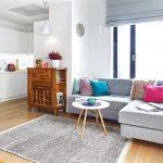 adelaparvu.com despre reamenajare apartament de 57 mp, camera copilului in fosta bucatarie, designer Anna Arcipowska, Foto Michal Mutor (4)