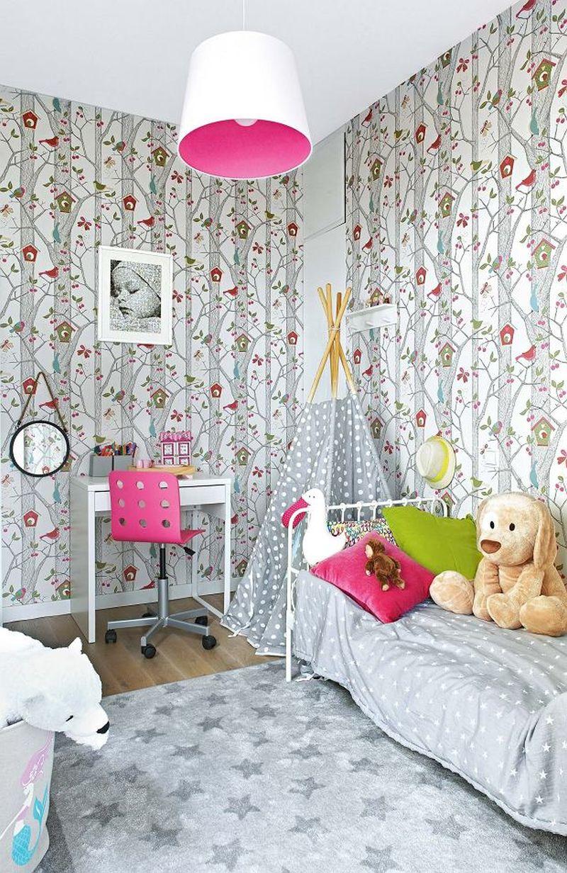 adelaparvu.com despre reamenajare apartament de 57 mp, camera copilului in fosta bucatarie, designer Anna Arcipowska, Foto Michal Mutor (7)