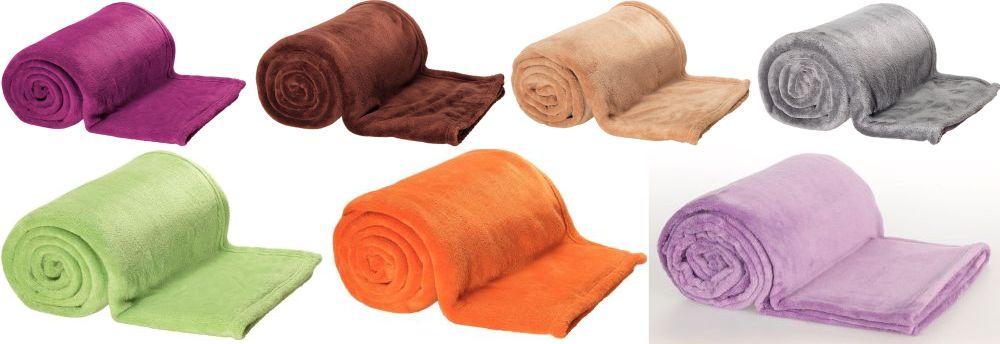 """Pătură """"Sweet"""" Reducere 40%. Preț întreg 49,99 lei/ Preț redus 29,99 lei. Dimensiuni 150 x 200 cm, disponibilă în mai multe culori. Este din 100% poliester."""
