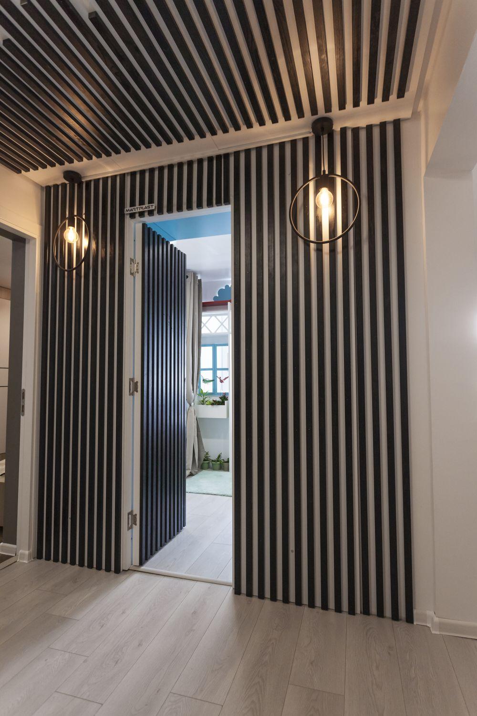 adelaparvu.com despre renovarea apartamentului familiei Cucu din Focsani, ep 10, sezonul 4, Visuri la cheie, hol (1)