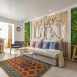 adelaparvu.com despre renovarea apartamentului familiei Cucu din Focsani, ep 10, sezonul 4, Visuri la cheie, living (2)