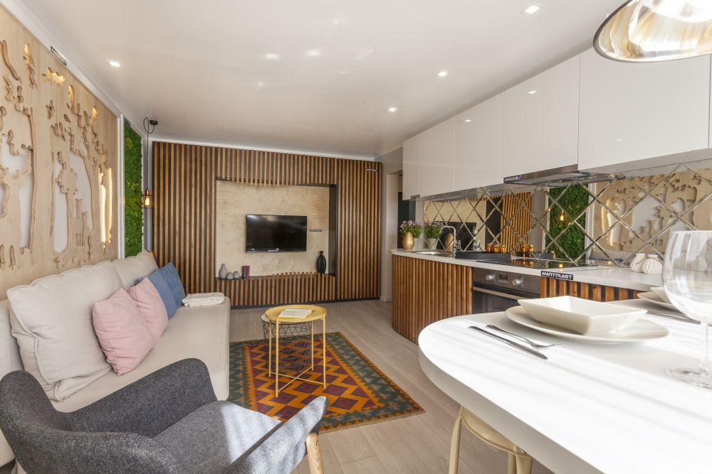 adelaparvu.com despre renovarea apartamentului familiei Cucu din Focsani, ep 10, sezonul 4, Visuri la cheie, living (5)
