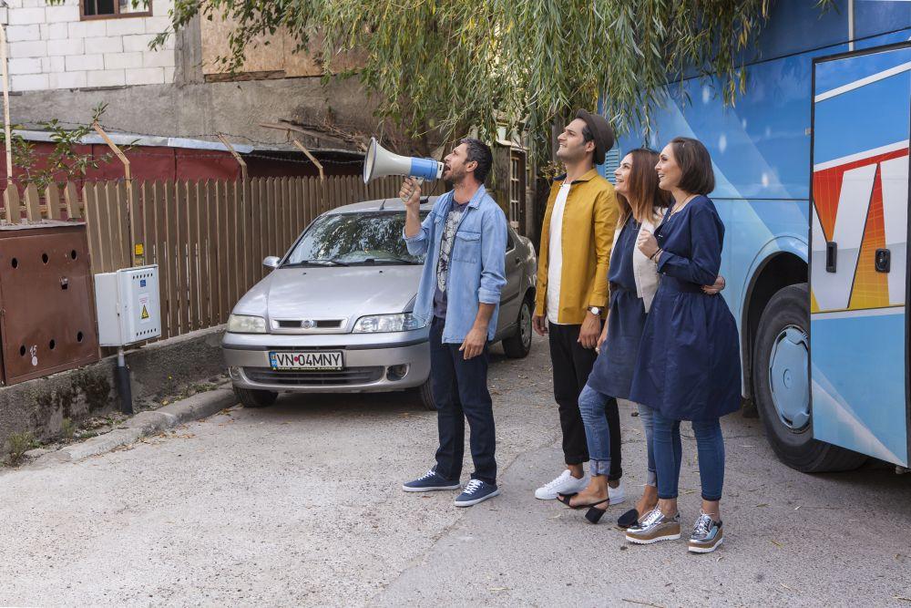 Momentul când echipa Visuri la cheie a ajuns în spatele blocului familiei și Dragoș Bucur i-a strigat pe nume.