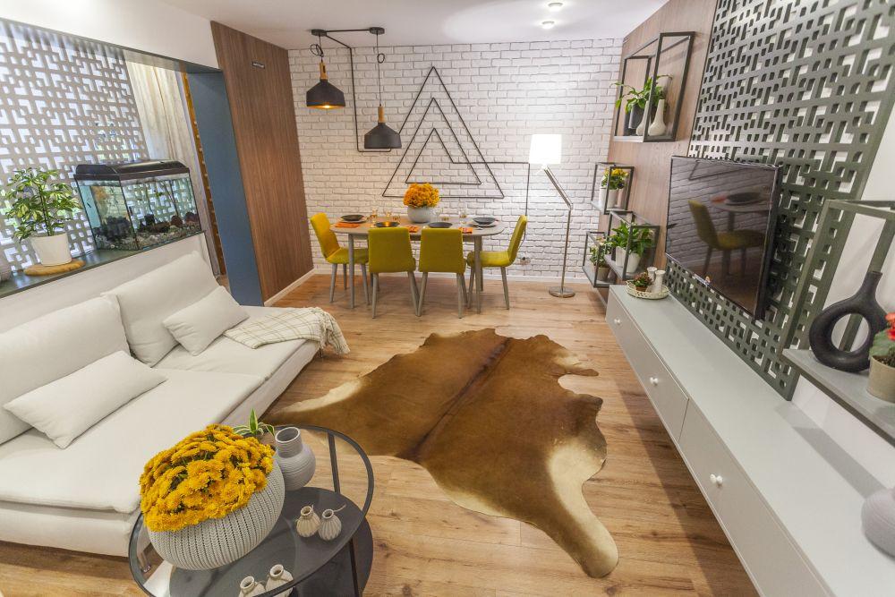 adelaparvu.com despre renovarea apartamentului familiei Dumitrascu, episodul 12, sezonul 4, Visuri la cheie, LIVING (7)