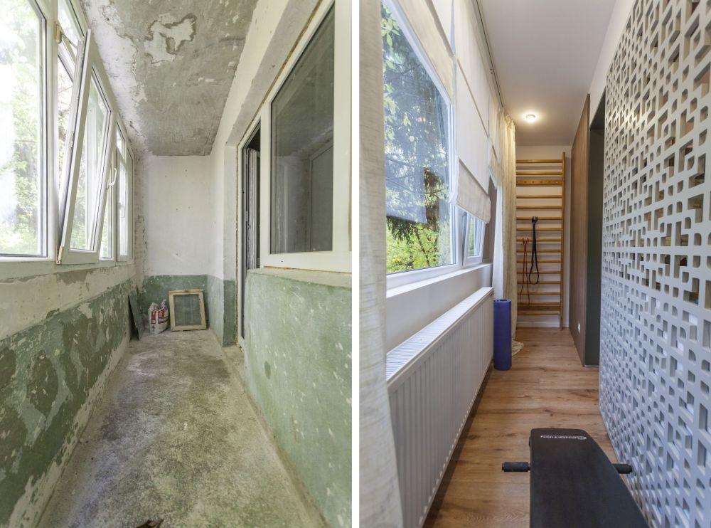 adelaparvu.com despre renovarea apartamentului familiei Dumitrascu, episodul 12, sezonul 4, Visuri la cheie, balcon (11)