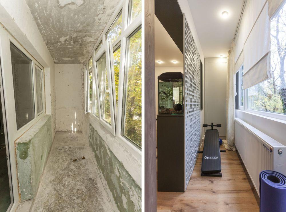 adelaparvu.com despre renovarea apartamentului familiei Dumitrascu, episodul 12, sezonul 4, Visuri la cheie, balcon (12)