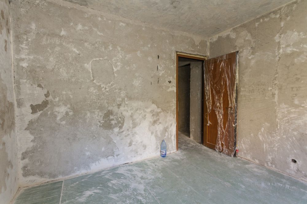 Camera Deliei înainte de renovarea Visuri la cheie