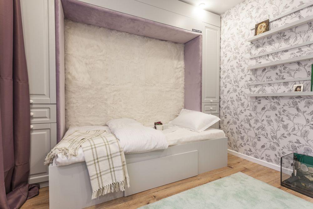 adelaparvu.com despre renovarea apartamentului familiei Dumitrascu, episodul 12, sezonul 4, Visuri la cheie, camera Delia (7)