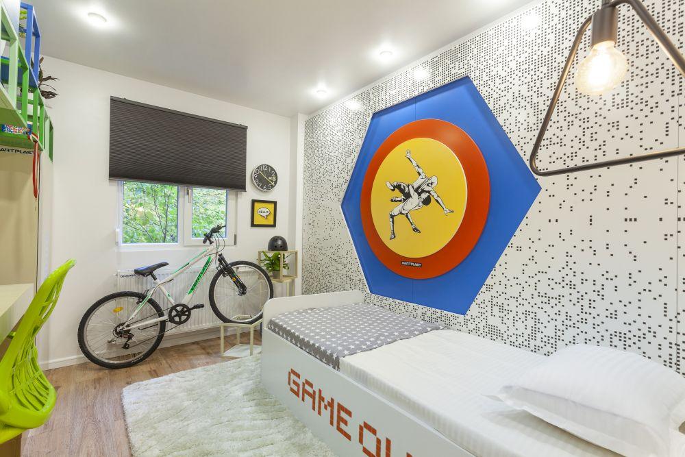 adelaparvu.com despre renovarea apartamentului familiei Dumitrascu, episodul 12, sezonul 4, Visuri la cheie, camera Stefan (3)