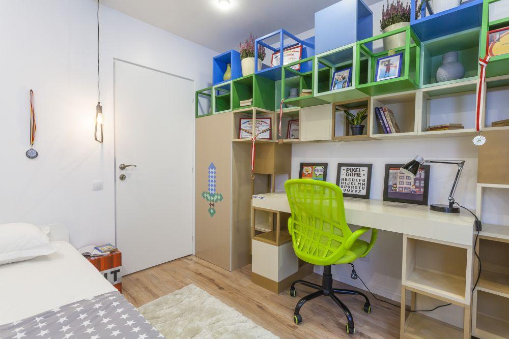 adelaparvu.com despre renovarea apartamentului familiei Dumitrascu, episodul 12, sezonul 4, Visuri la cheie, camera Stefan (5)