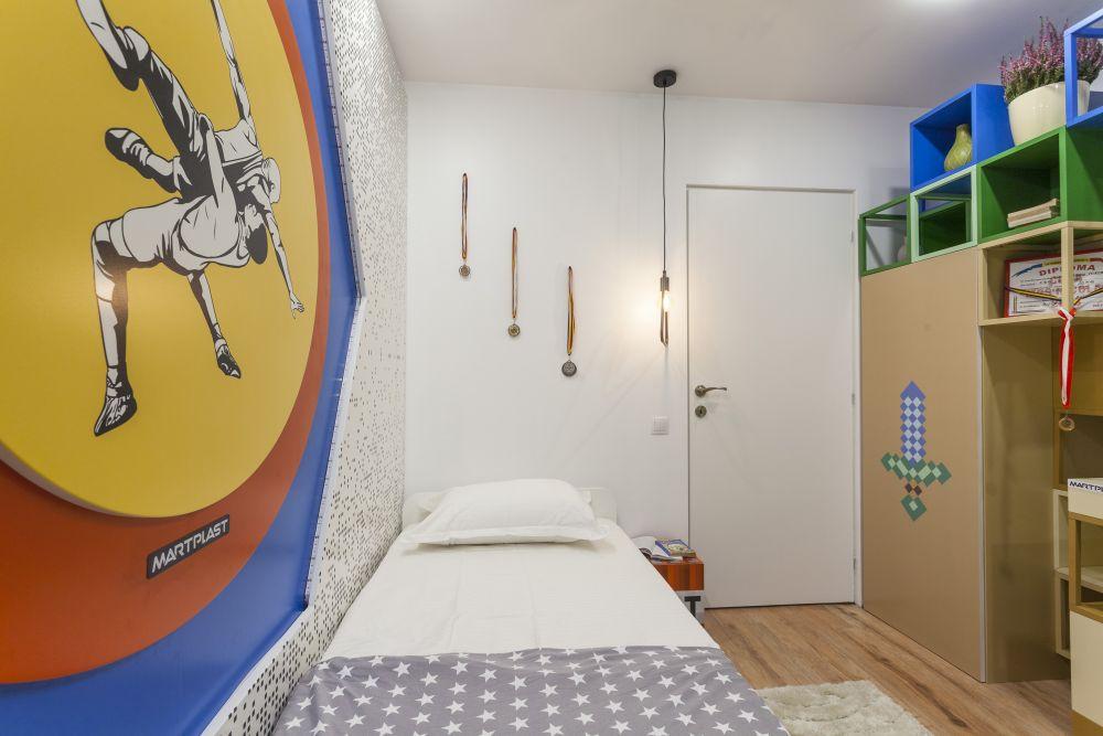 adelaparvu.com despre renovarea apartamentului familiei Dumitrascu, episodul 12, sezonul 4, Visuri la cheie, camera Stefan (6)