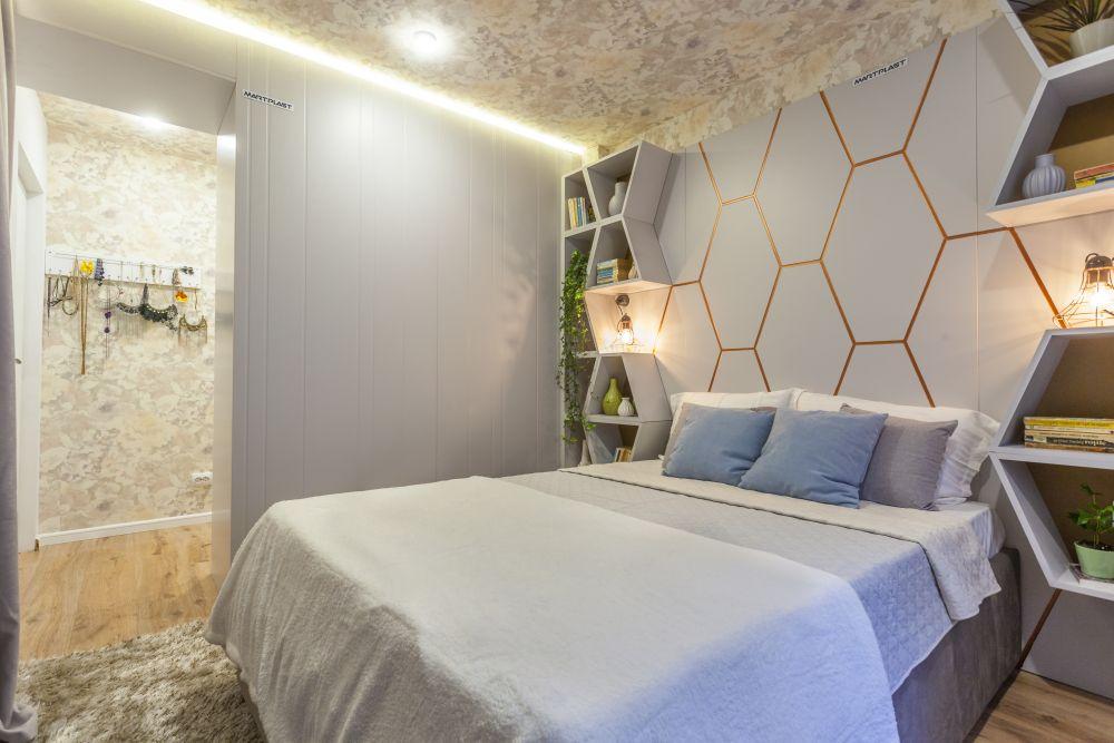 adelaparvu.com despre renovarea apartamentului familiei Dumitrascu, episodul 12, sezonul 4, Visuri la cheie, dormitor matrimonial (4)