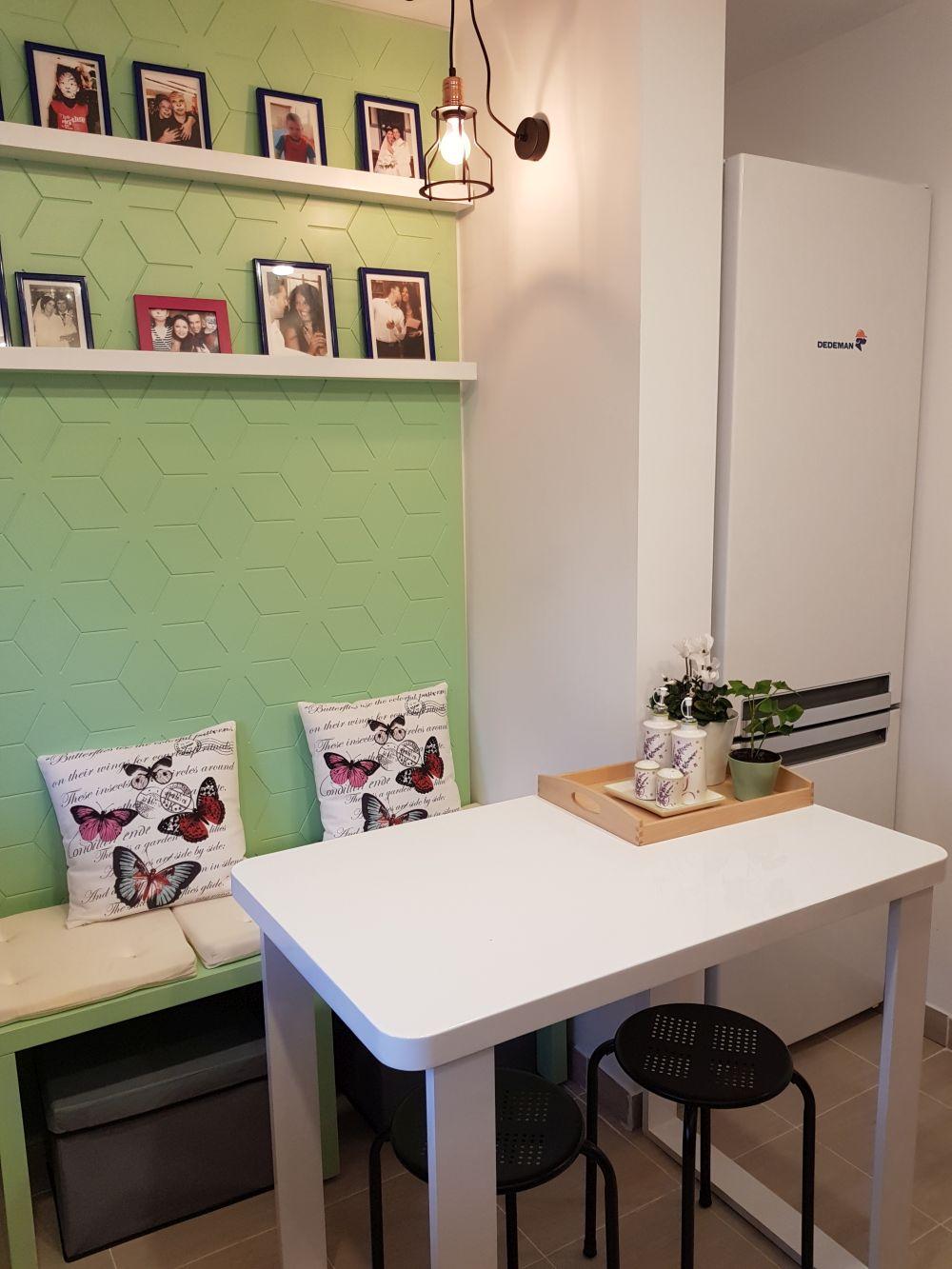 Bucătăria după renovarea Visuri la cheie. Foto cu Samsung Galaxy Note 8