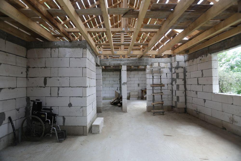 Casa așa cum arăta ea la interior înainte de renovare
