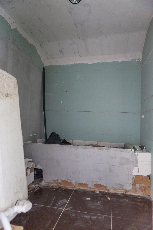Baia de la etaj înainte de renovare