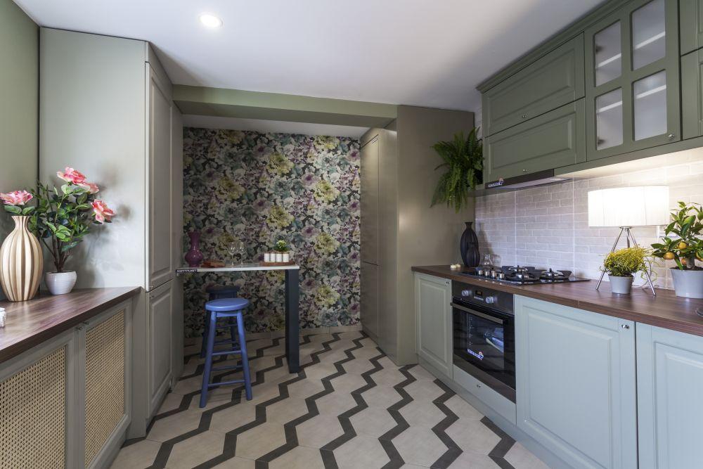 Bucătăria după renovare