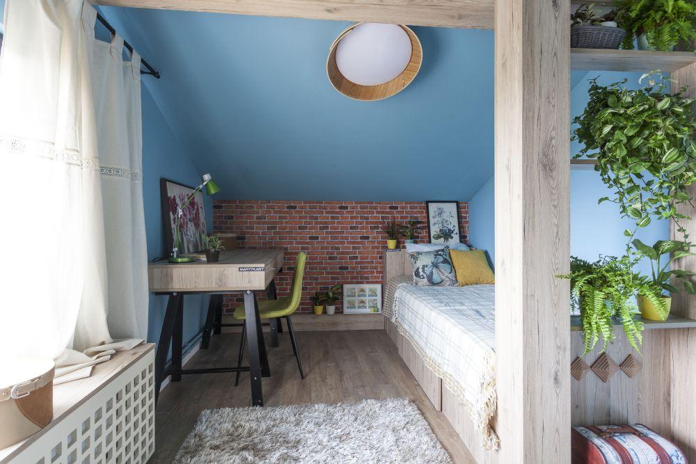 adelaparvu.com despre renovarea casei familiei Ispilat din Niculesti, episodul 11, sezonul 4, Visuri la cheie, camera Sara (2)