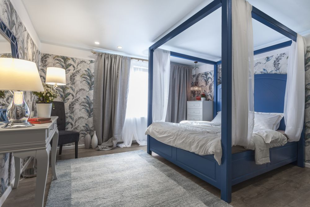 Dormitorul matirmonial după renovare