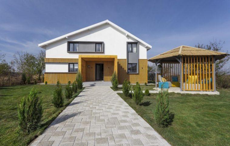 Casa după renovare.