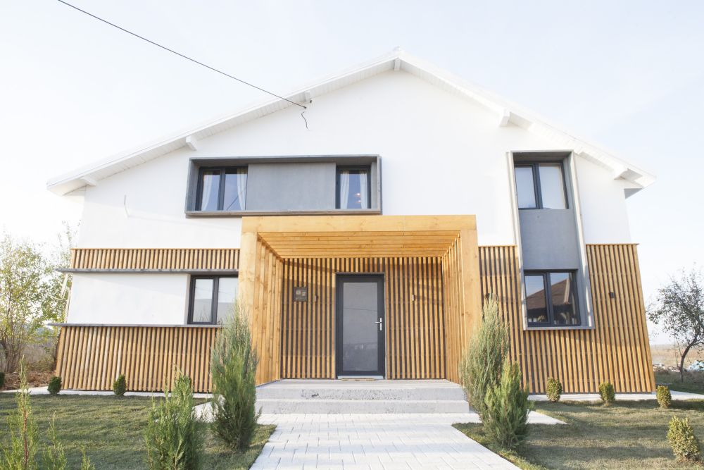 Casa după renovare