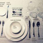 adelaparvu.com despre aranjarea mesei formale, in foto vesela si tacamuri de la Kika