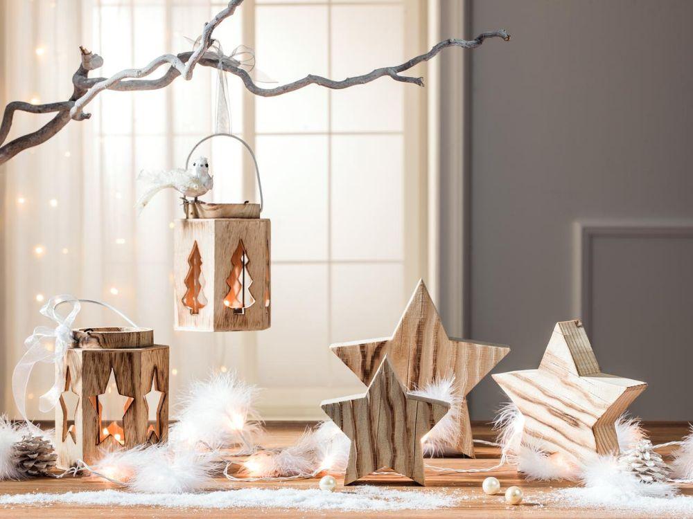 """Decorațiune Crăciun """"Stea"""" din lemn, vezi dimensiuni și preț AICI"""