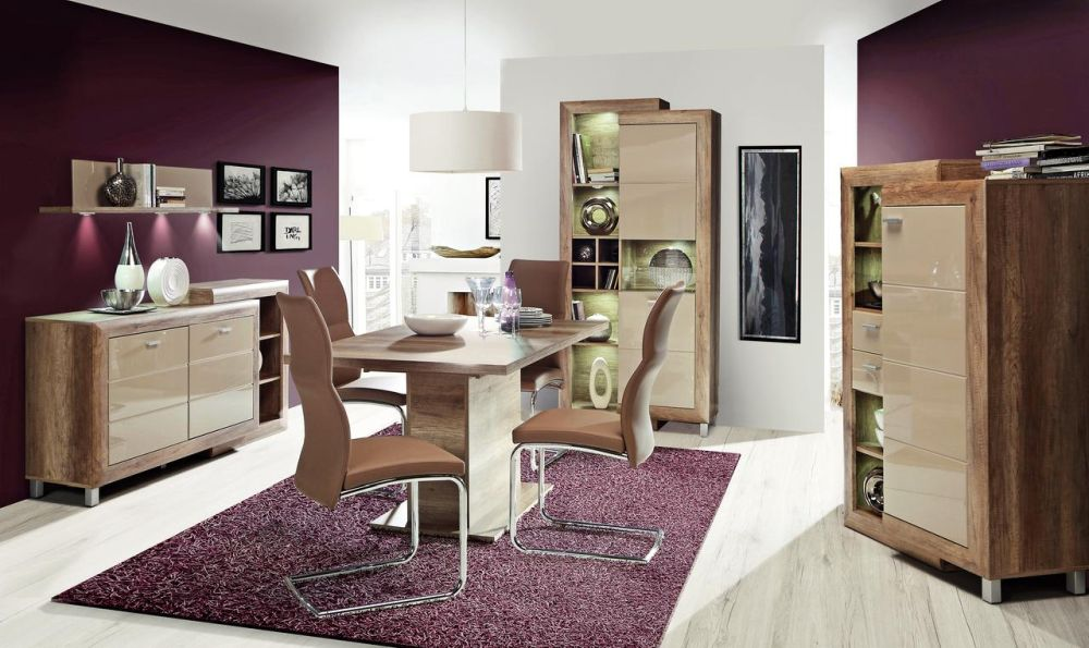 """Gamă de mobilier pentru living și sufragerie """"Genetic"""", vezi număr piese, dimensiuni, materiale și preț AICI"""