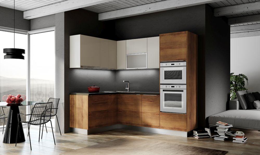 """Bucătărie """"Padova"""" de la Quattro Mobili VEZI AICI. Bucătăriile din gama Quattro Mobili, produse în Italia, se bucură nu doar de un design plăcut ci şi de finisaje de calitate. Întreaga gamă de bucătării este modulară şi poate fi deci adaptată oricărui spaţiu. Poţi opta pentru diverse culori şi finisaje şi poţi completa bucătăria ta cu diverse soluţii inteligente de organizare cum ar fi sisteme de compartimentare a sertarelor sau sisteme de depozitare pentru colţ. Bucătăria Quattro Mobili este accesibilă, de calitate, cu un timp scurt de livrare şi posibilitatea de proiectare 3D."""
