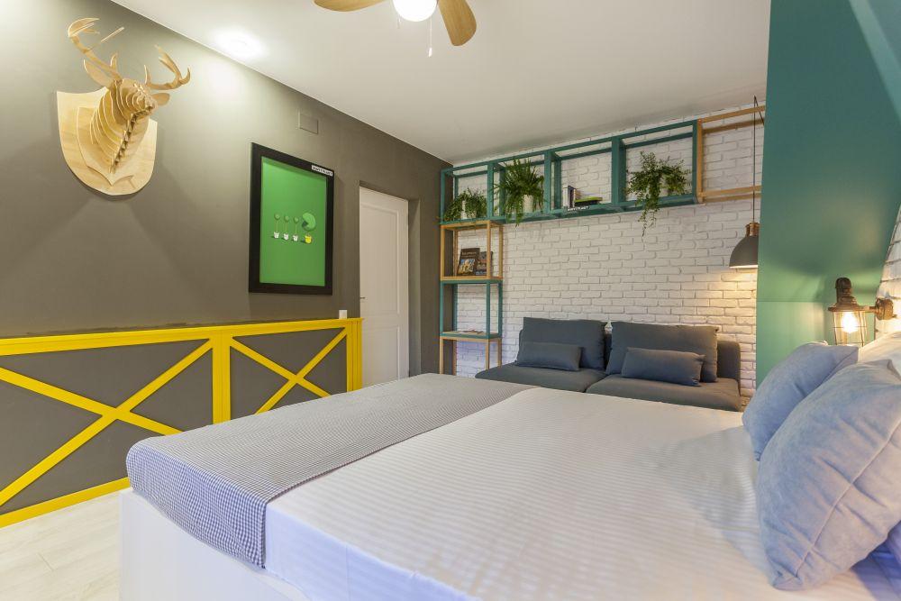 Dormitorul lui Cătălin după renovarea făcută de Visuri la cheie.