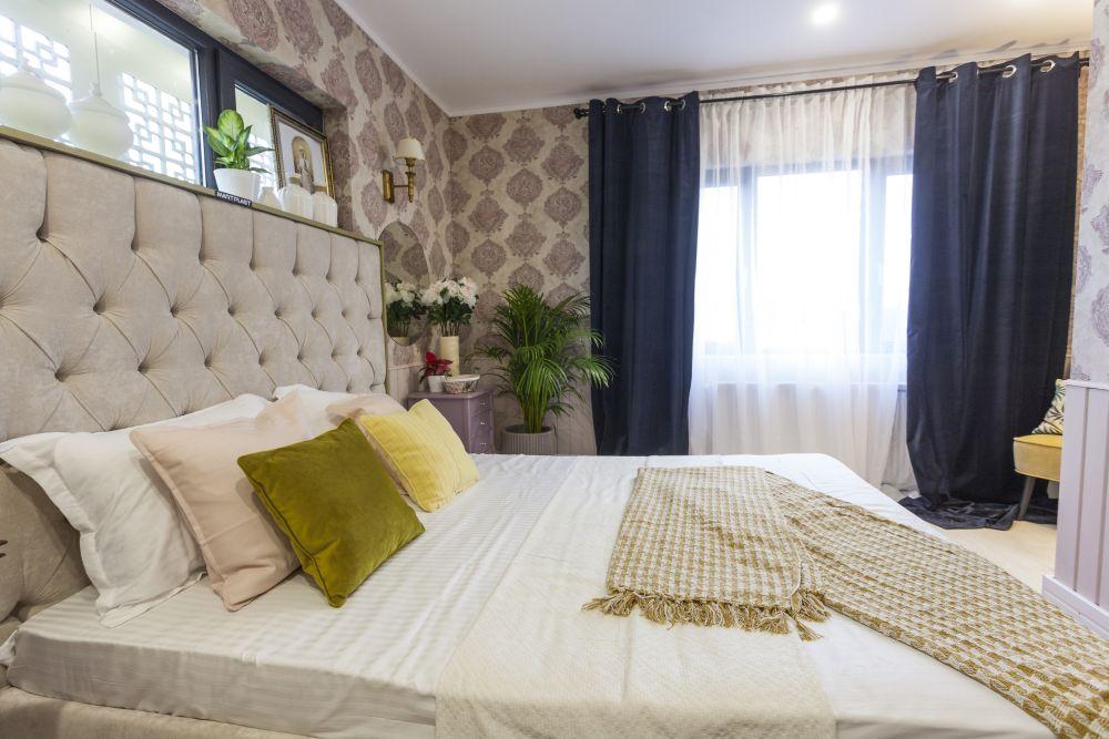 adelaparvu.com despre renovarea casei familiei Manaila, Rosiori de Ialonita, episodul 13, sezonul 4 Visuri la cheie, dormitor bunica (3)
