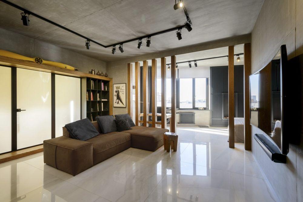 adelaparvu.com despre amenajare apartament loft 70 mp, design interior SHAR (11)