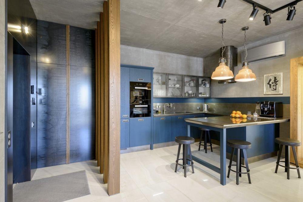 adelaparvu.com despre amenajare apartament loft 70 mp, design interior SHAR (12)