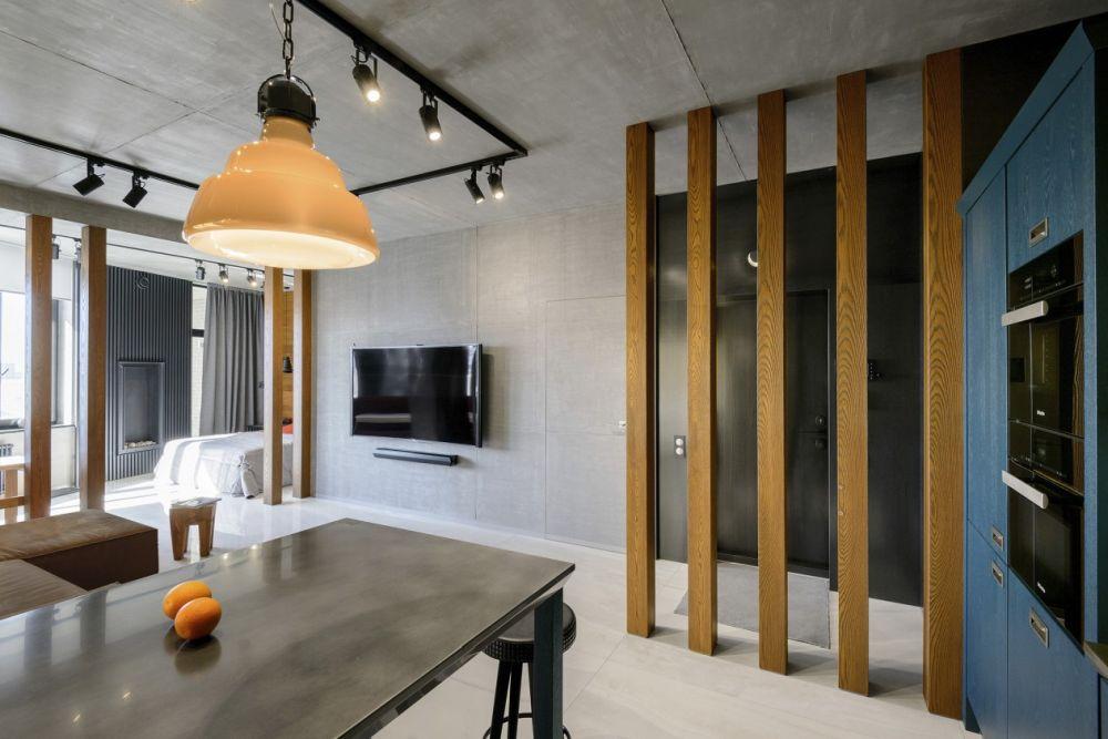 adelaparvu.com despre amenajare apartament loft 70 mp, design interior SHAR (14)