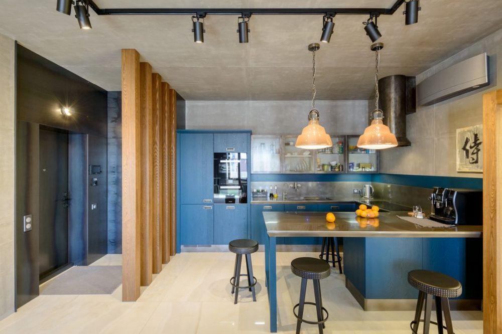 adelaparvu.com despre amenajare apartament loft 70 mp, design interior SHAR (15)
