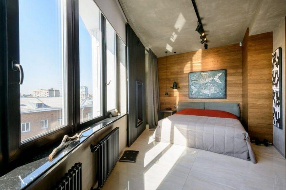 adelaparvu.com despre amenajare apartament loft 70 mp, design interior SHAR (17)