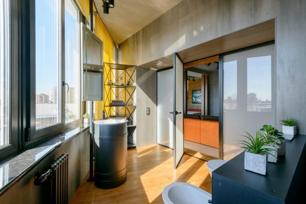 adelaparvu.com despre amenajare apartament loft 70 mp, design interior SHAR (18)