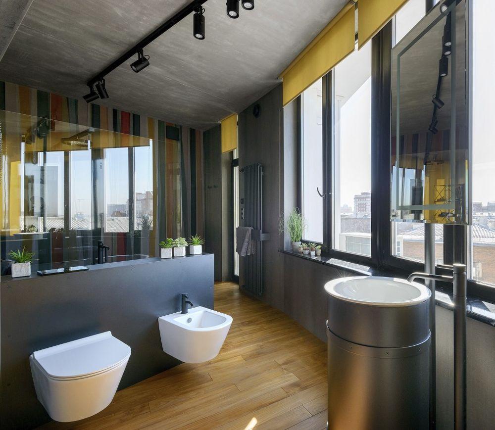 adelaparvu.com despre amenajare apartament loft 70 mp, design interior SHAR (2)