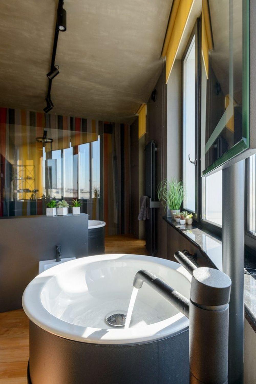 adelaparvu.com despre amenajare apartament loft 70 mp, design interior SHAR (20)
