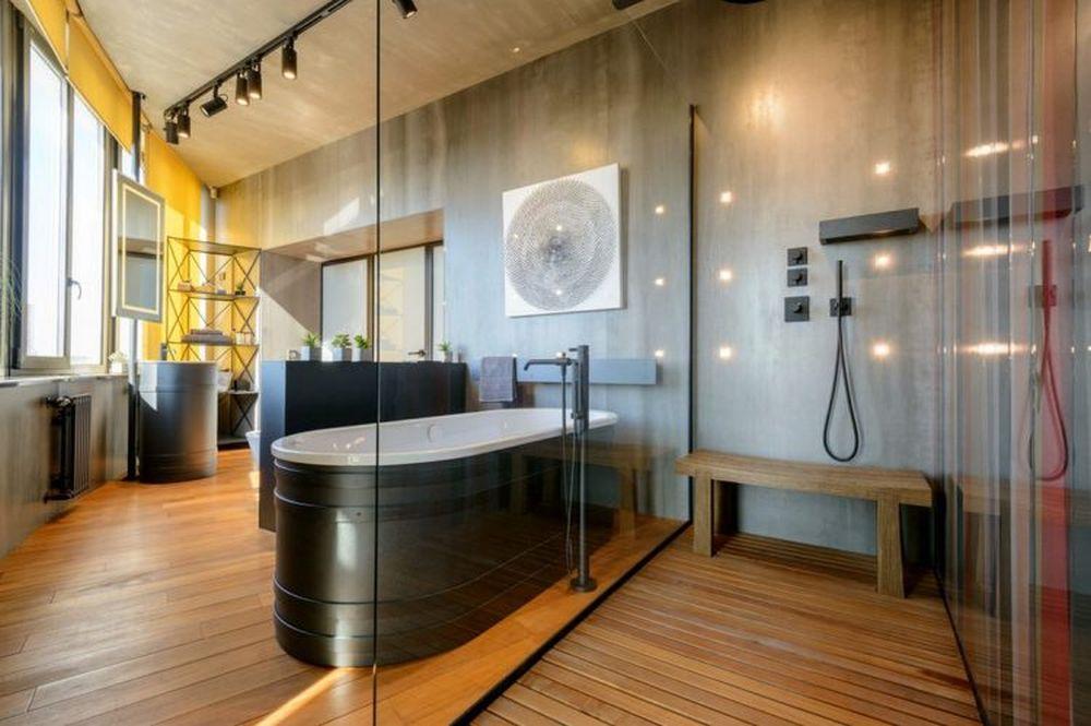 adelaparvu.com despre amenajare apartament loft 70 mp, design interior SHAR (21)