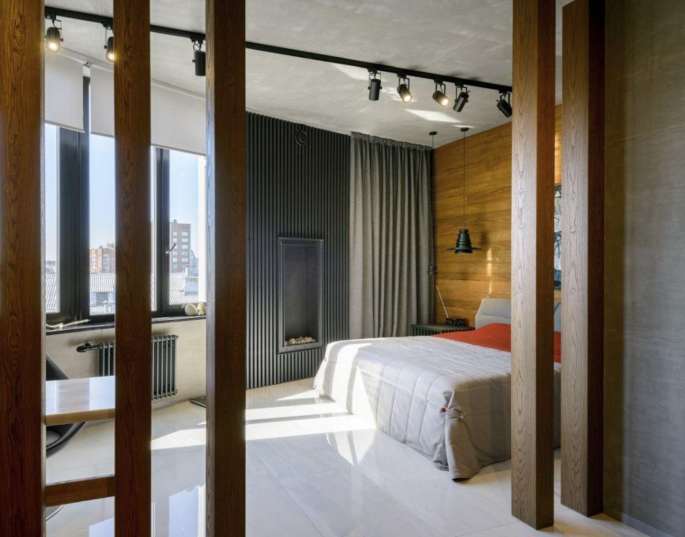 adelaparvu.com despre amenajare apartament loft 70 mp, design interior SHAR (4)