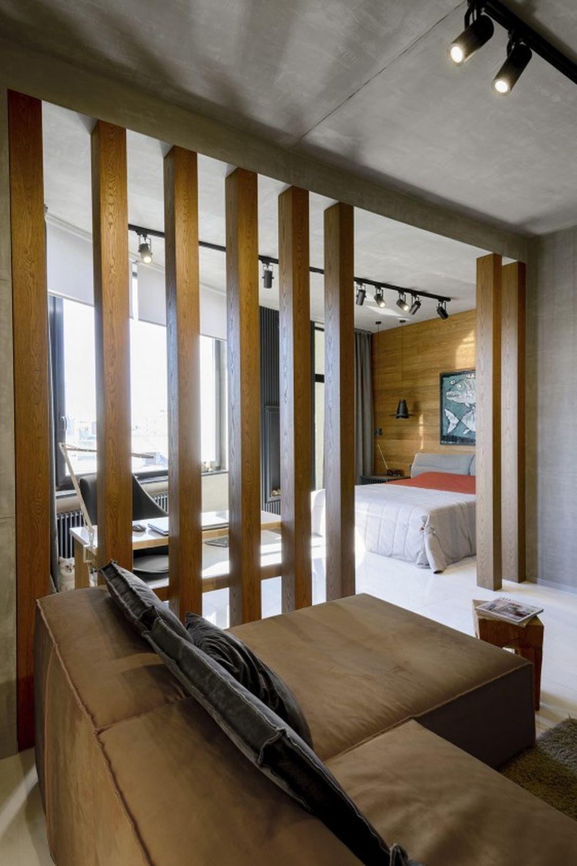adelaparvu.com despre amenajare apartament loft 70 mp, design interior SHAR (7)