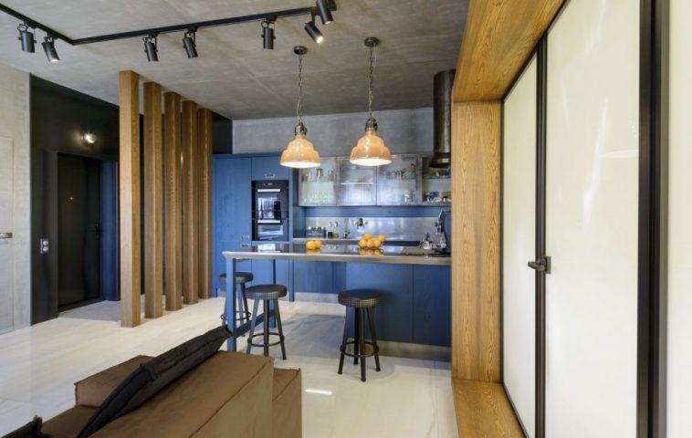 adelaparvu.com despre amenajare apartament loft 70 mp, design interior SHAR (8)